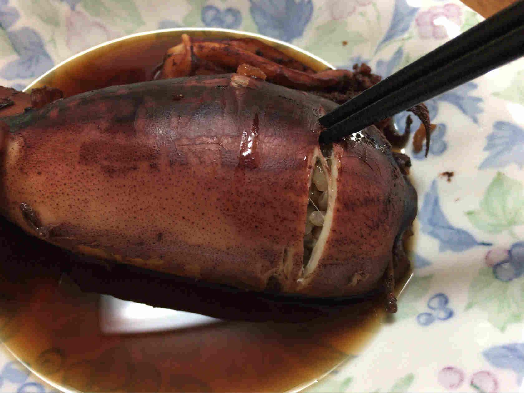 イカ飯作り方12