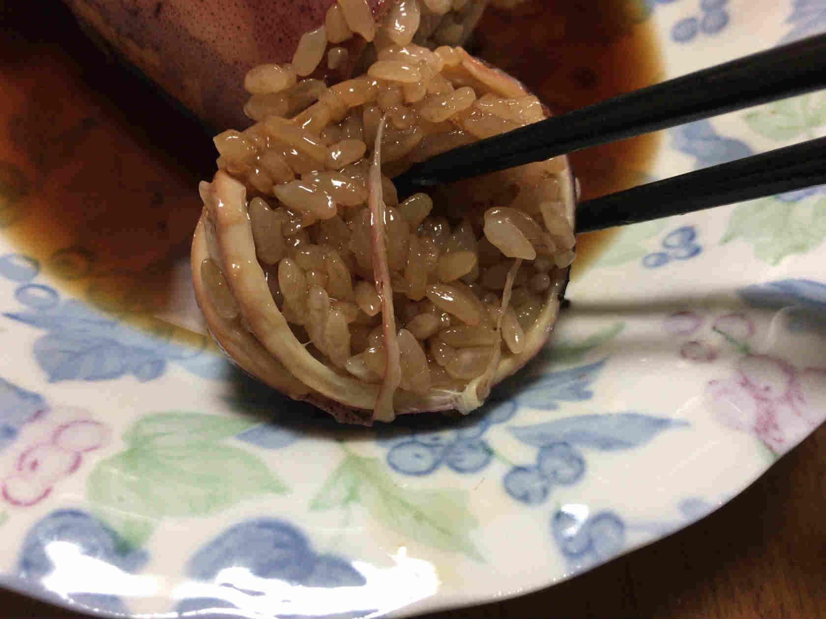 イカ飯作り方13
