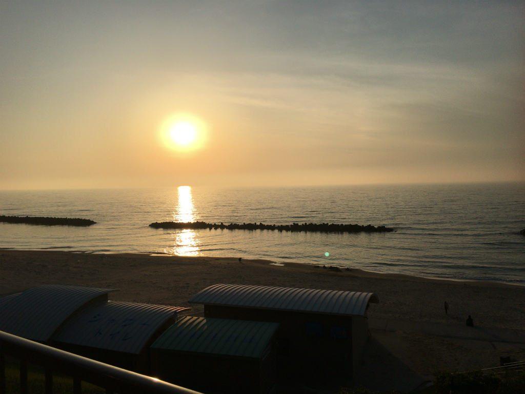 キララの夕日