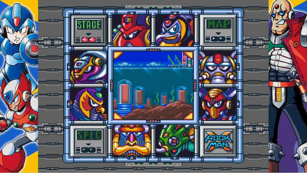 ロックマンX 8ボス