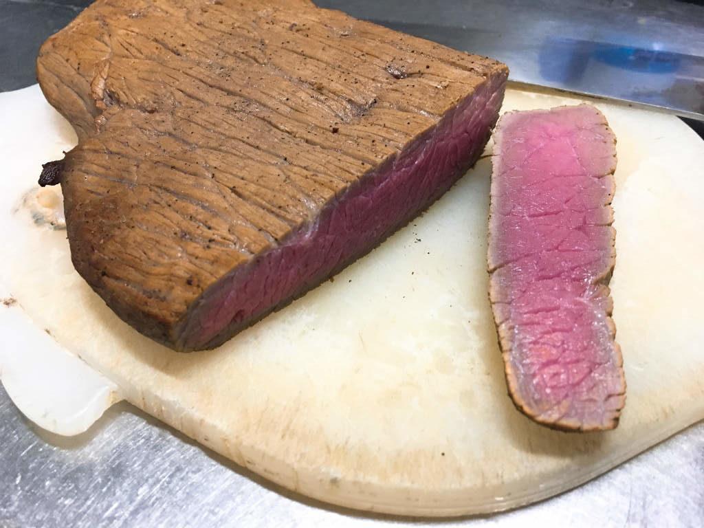 ローストビーフの燻製