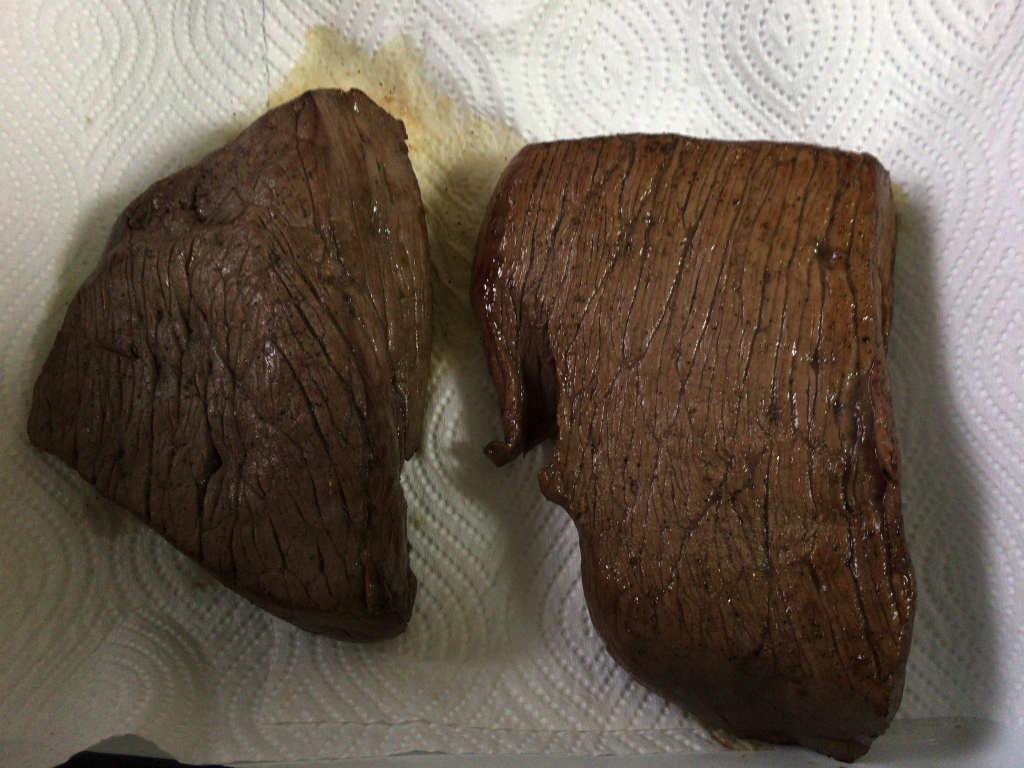 ローストビーフの燻製4