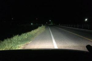 夜中にドライブ10