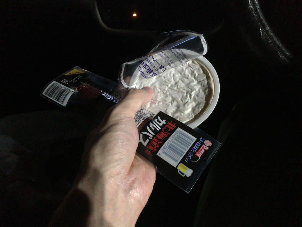 夜中にドライブ9