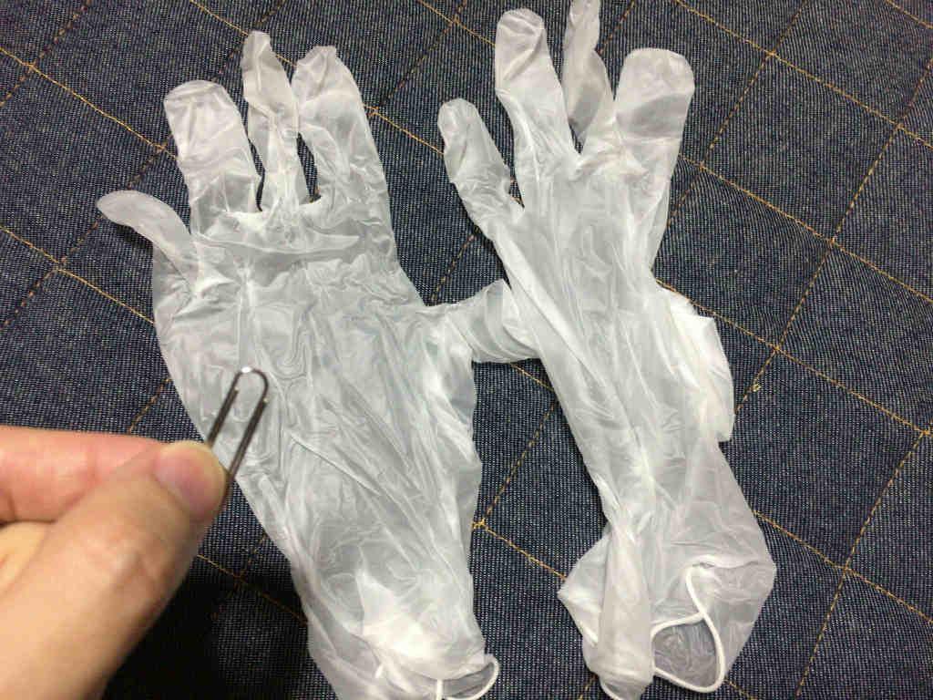 大げさな手袋