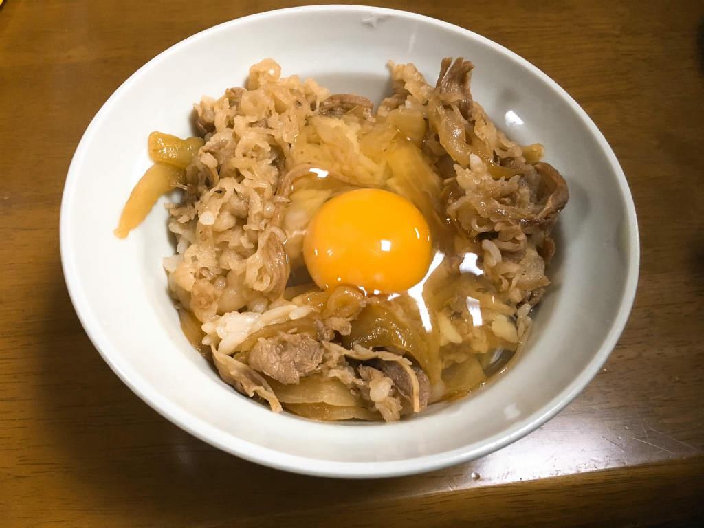 松屋牛めしプレミアム6