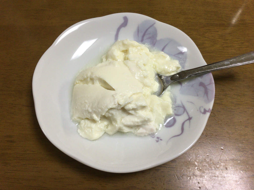 ヨーグルト 豆乳