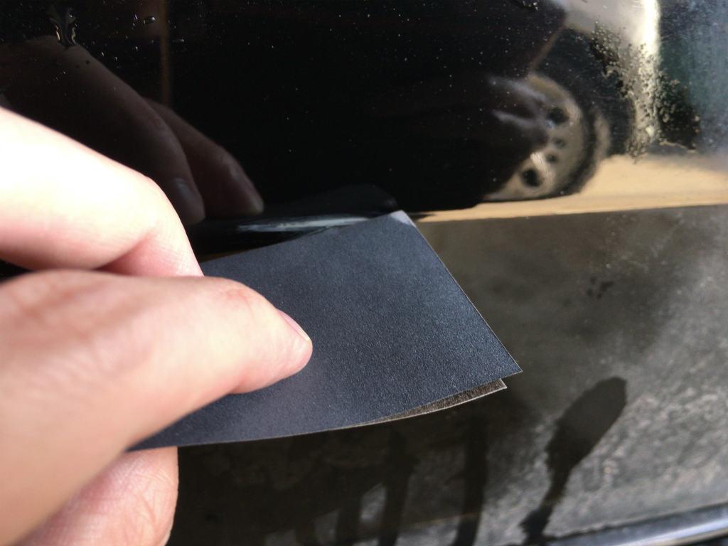 車の傷修理11