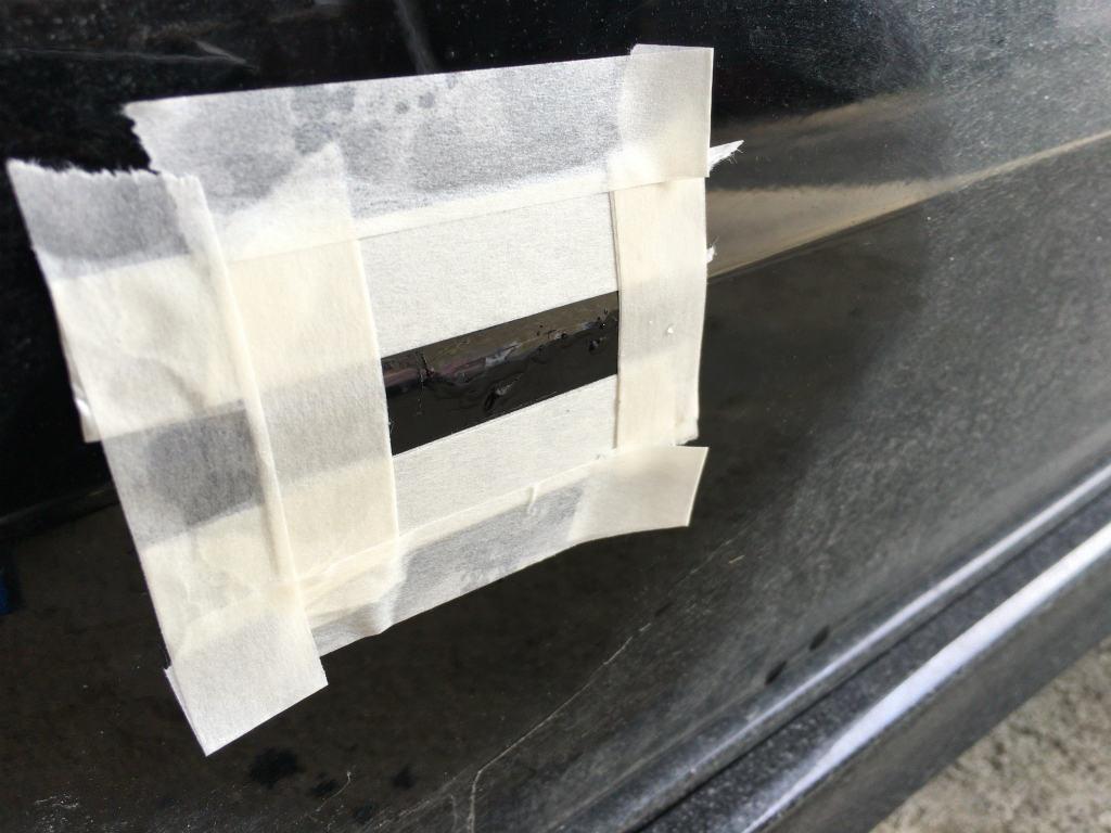 車の傷修理30