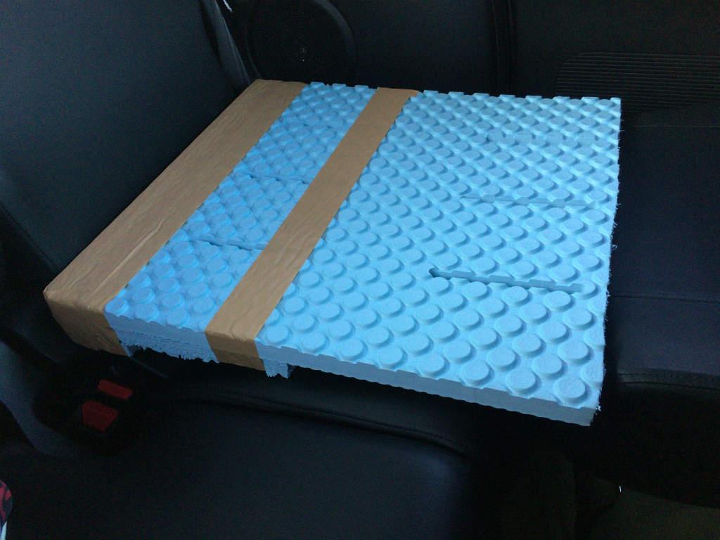 車中泊用自作ボード3
