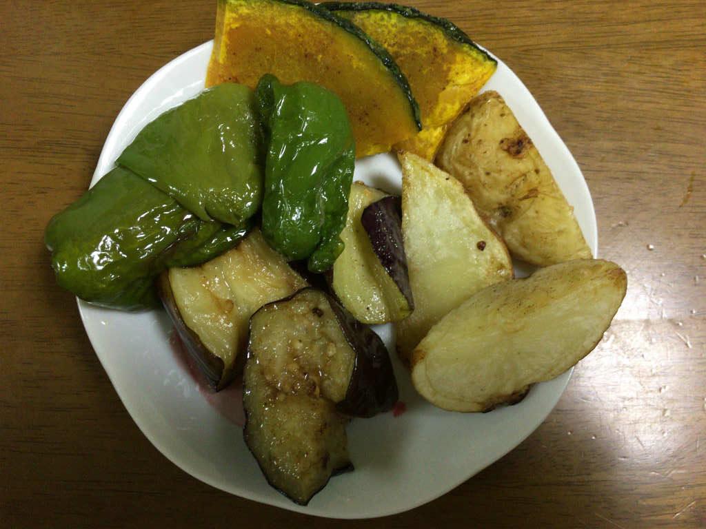 夏野菜の素揚げ