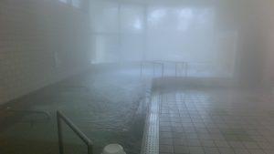 比田温泉浴室