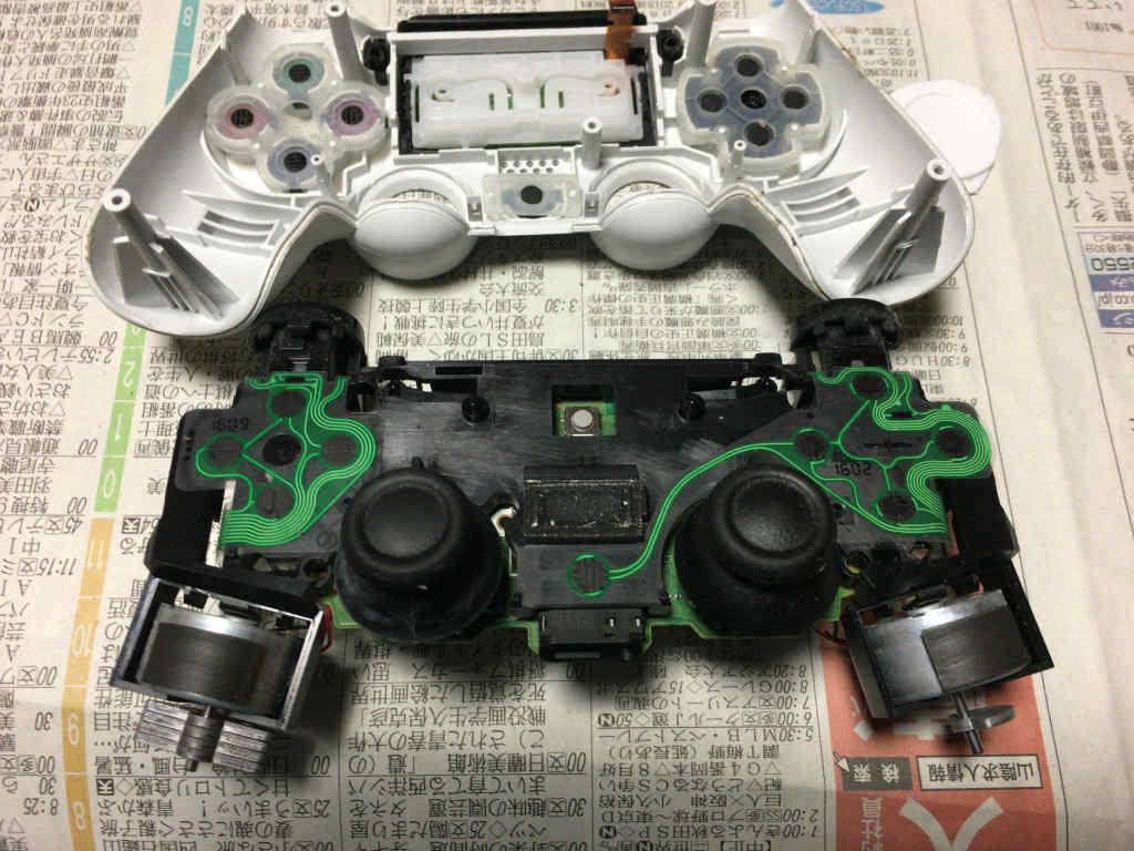 PS4コントローラ分解9